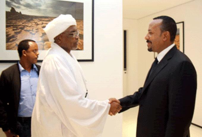 رئيس وزراء اثيوبيا:نحرص علي رفع مستوي التعاون مع السودان