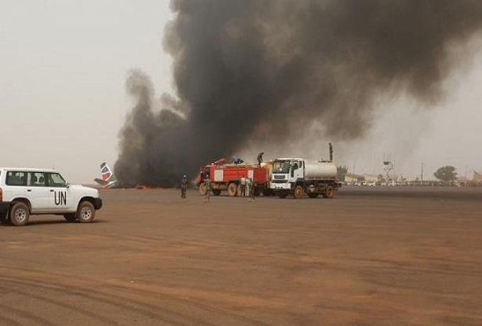 تحطم طائرة مروحية تتبع للأمم المتحدة بجنوب السودان