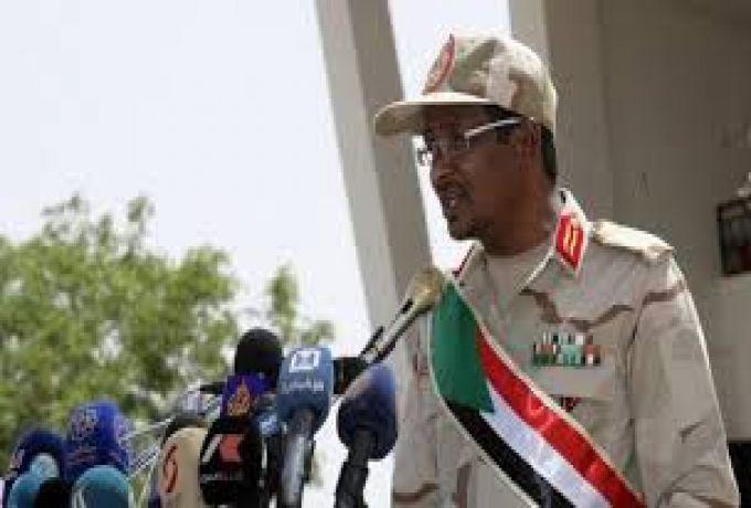 حميدتي نائباً لرئيس المجلس الانتقالي ، وقادة الفرق العسكرية لعضوية المجلس