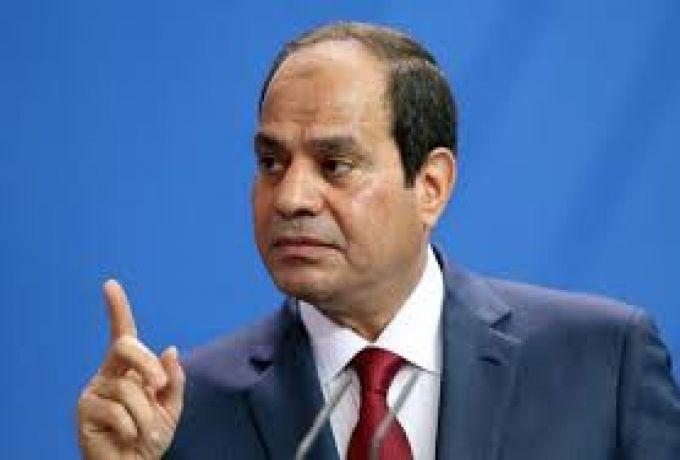 السيسي يؤكد دعمه لرئيس المجلس العسكري