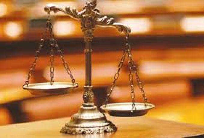 """وقفة احتجاجية للقضاء للمطالبة بإقالة رئيس القضاء المنتمي لـ """"الكيزان"""""""