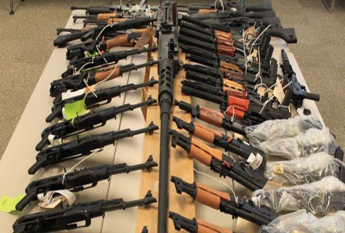 تفاصيل عملية تهريب كميات من الأسلحة بشرق السودان