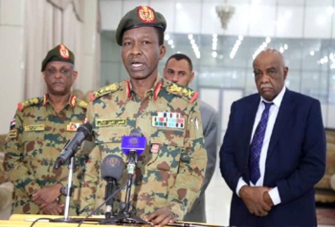الكباشي يكشف سبب تأجيل حل المجلس العسكري