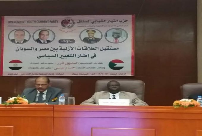 تاور: العلاقات السودانية المصريه قائمة على تبادل المصالح