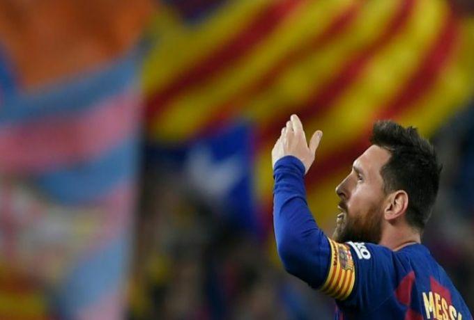 برشلونة يتصدر بفضل ميسي