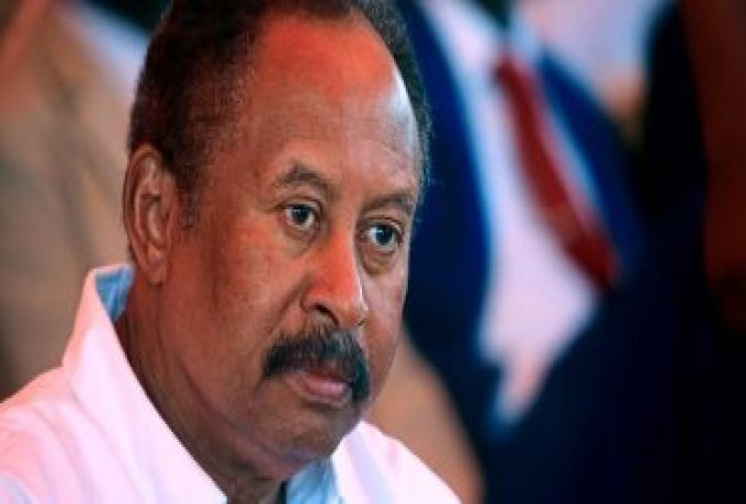 حمدوك: همنا معالجة الاقتصاد وازالة السودان من قائمة الارهاب