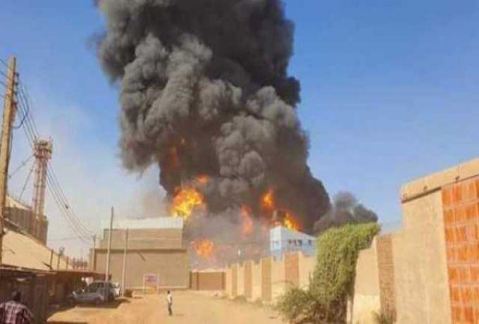 وفاة اربعة مصريين في حريق بحري