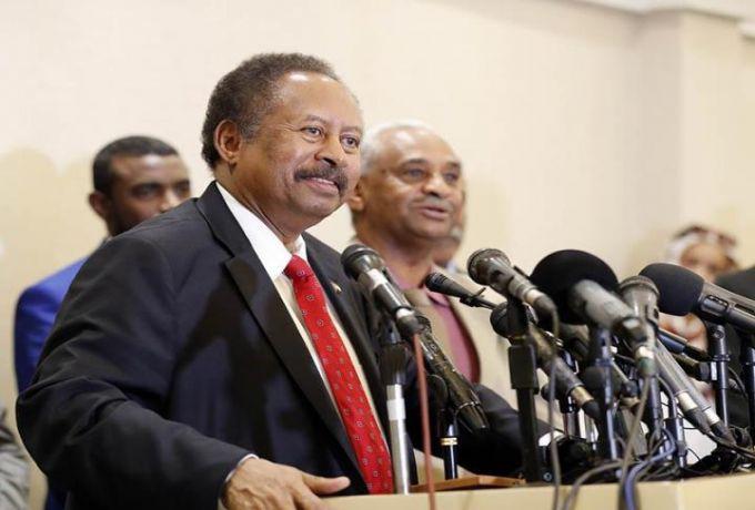 حمدوك: امريكا قلصت الشروط لاثنين لازالة اسم السودان من قائمة الارهاب