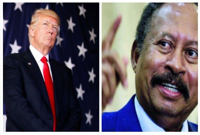 إشارات من واشنطن للتقليل من شأن تصريحات حمدوك بشأن صفقة بين السودان وإدارة ترامب