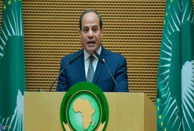 السيسي يؤكد موقف مصر من الأزمة الليبية
