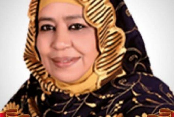 أميرة الفاضل تعلن زهدها في الاستمرار بالاتحاد الأفريقي