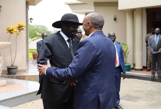رئيس مجلس السيادة يشهد مراسم أداء اليمين الدستورية لنواب رئيس جمهورية جنوب السودان