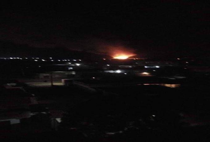 الجيش يشكل لجنة تحقيق لكشف أسباب حريق الشجرة