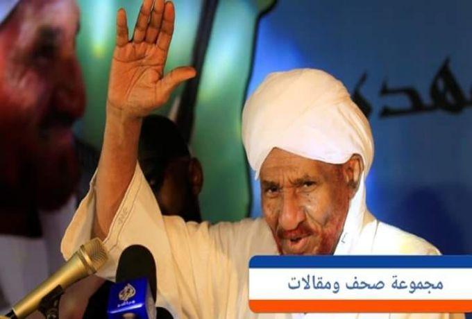 الصادق المهدي: مُشاركة ابني عبد الرحمن في الإنقاذ لحماية الحزب من شر البشير