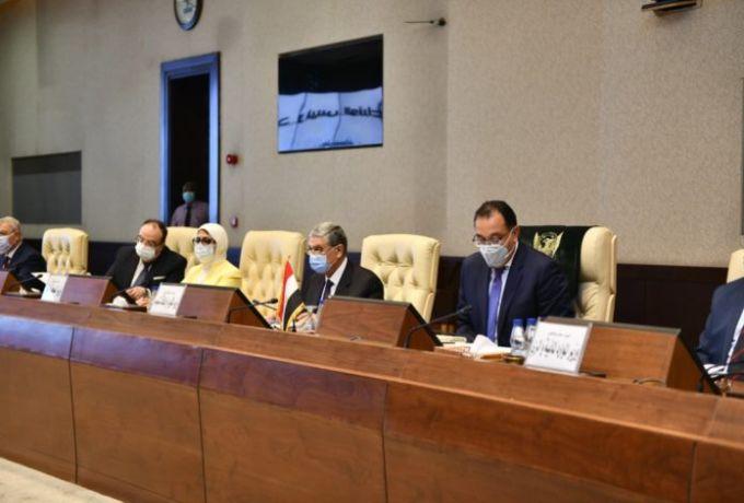 بدء جلسة مباحثات مشتركة بين السودان ومصر