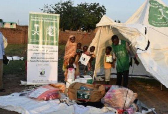 جسر سعودي جوي للإغاثة للسودان بسبب الفيضانات