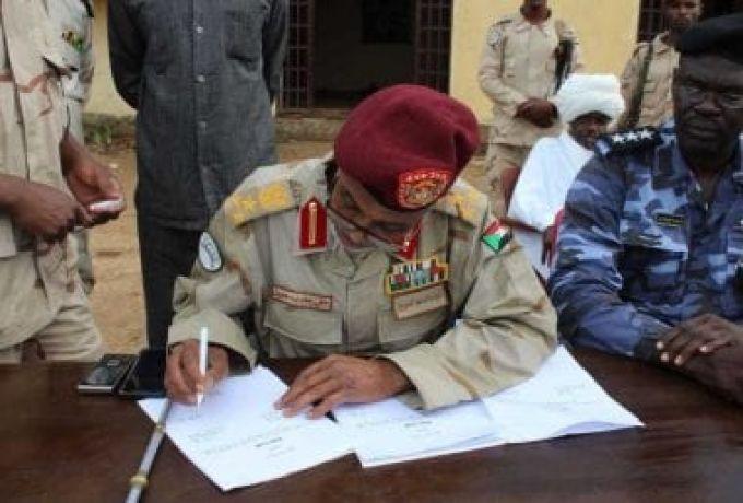 قيادة الدعم السريع بوسط دارفور تسلم الجمارك 59 مركبة غير مقننة