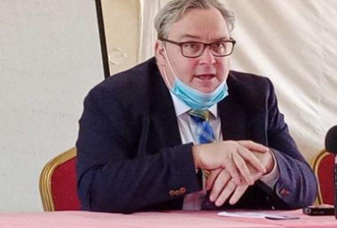 دبلوماسي بريطاني يحث حكومة جنوب السودان على تعزيز حرية التعبير