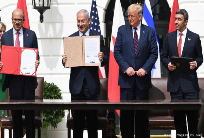 السفير السوداني بواشنطن يكشف سبب المشاركة في حفل اتفاق الإمارات والبحرين وإسرائيل