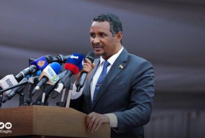 حميدتي يُطالب بشرح إتفاق السلام للمواطنين منعاََ لإستغلاله سياسياََ