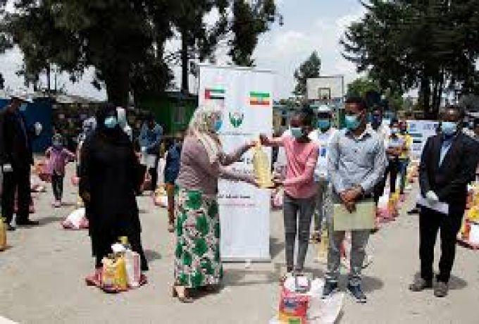 جسر جوي إماراتي لنقل المساعدات إلى اللاجئين الإثيوبيين في السودان