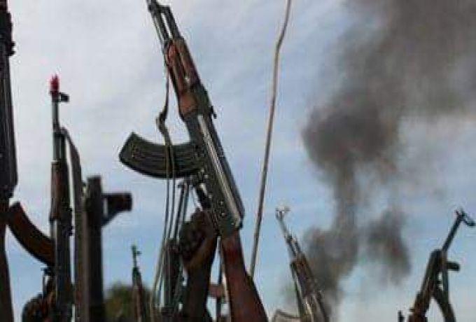 """احراق مركز """"موروتو"""" لتدريب القوات والدفاع المشترك يتوعد بمحاسبة المتورطين"""