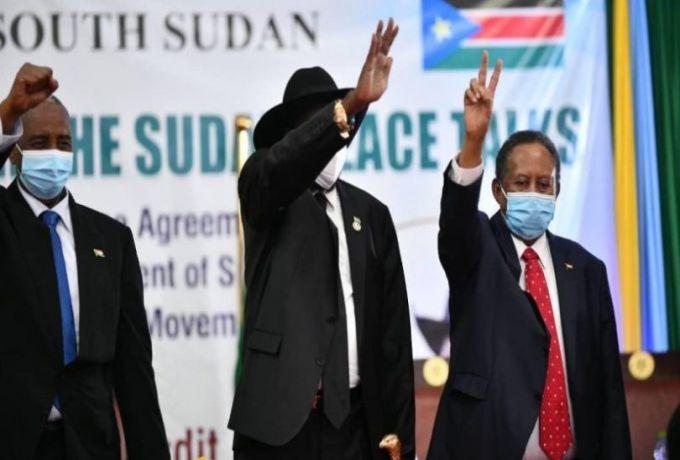 رئيس مفوضية السلام يتسلم 3 آلاف نسخة من إتفاق السلام في السودان