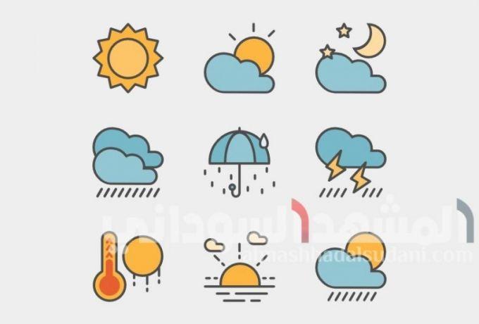 تعرف على احوال الطقس في البلاد