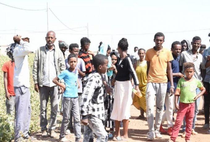 اللاجئون يواصلون التدفق على السودان