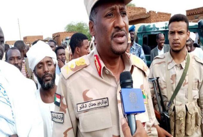 السودان ..دقلو: مفهوم مدنيين وعسكريين انتفى بين الشركاء