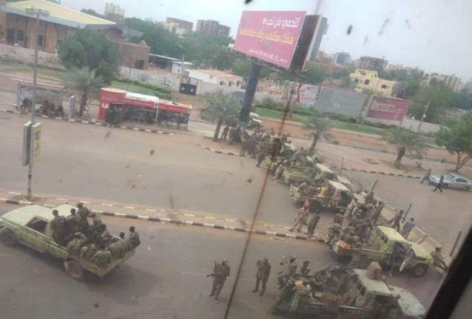 إغلاق جميع الطرق المؤدية للقيادة العامة السودانية