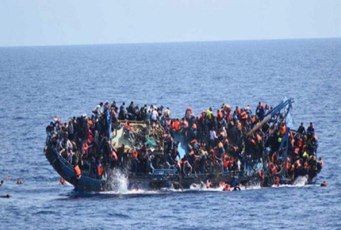 بينهم سودانيين..مصرع ما لا يقل عن 130 مهاجراً في عُرض البحر الأبيض المتوسط