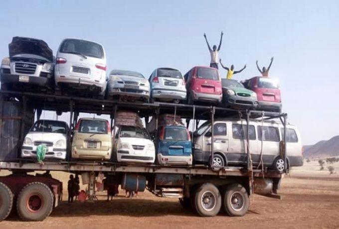 حُصرت فى (15) يوم الجمارك: مايفوق ال(105) الف عربة بوكو حرام مصيرها الصهر