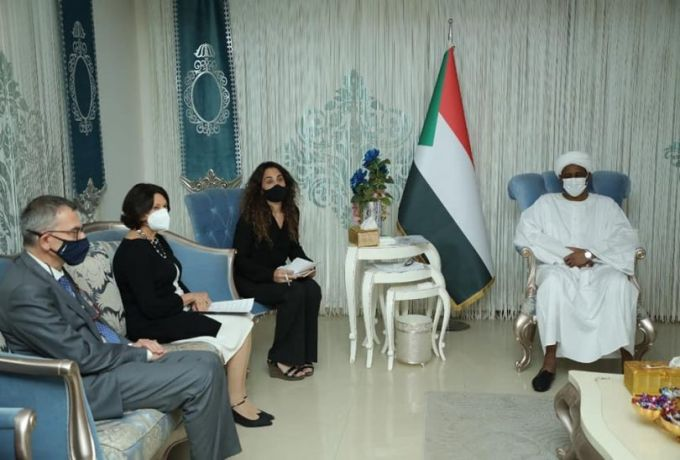 نائب رئيس مجلس السيادة دقلو يلتقي وكيلة الأمين العام للأمم المتحدة