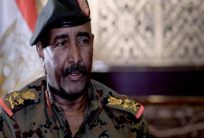 """البرهان يؤكد على ضرورة وحدة """"الحرية والتغيير"""" وكافة قوى الثورة"""
