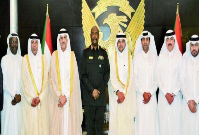 وفد قطري يبحث الفرص الاستثمارية في السودان