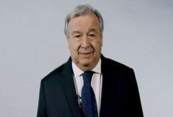 الأمين العام للأمم المتحدة يدين محاولة الانقلاب فى الخرطوم