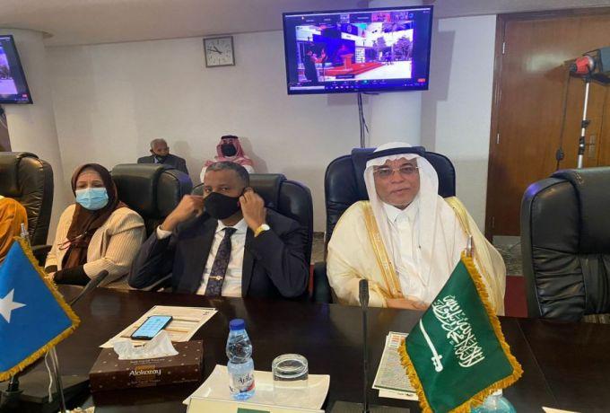 سفير السعودية يعزي في الخليفة محمد سر الختم بسنكات
