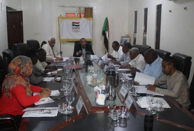 المجلس التنفيذي للأولمبية السودانية يجتمع و يصدر عدد من القرارات ..